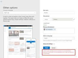 Create Sharepoint Site Template