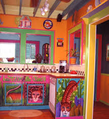 Colorful Kitchen Colorful Kitchen Mexican House Interior Mexican House Interior