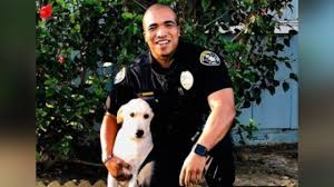 Animal Cop Cop Adopts Dog He Found Abandoned In Stolen Car Cbs 17