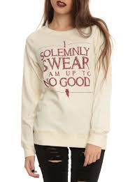 good topic harry potter solemnly swear reversible girls top hot  harry potter solemnly swear reversible girls top hot topic harry potter solemnly swear reversible girls top