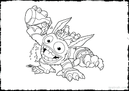 Skylanders Coloring Pages Printable Coloring Sheets Giants Coloring