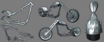 thompson choppers chopper motorcycle bagger frames rolling
