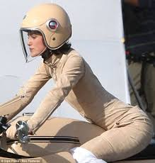 y in her suede biker jumpsuit this outfit of keira s was the least