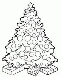 Small Picture FREE Scrappy Christmas Tree coloring page Educational Finds and