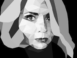 Portrait In Lowpoly By Anna Maksimova On Dribbble
