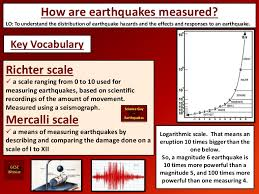 Using the to measure earthquakes geology. Measuring Earthquakes
