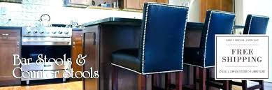 blue leather counter stools leather blue leather kitchen counter stools