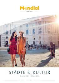 Mondial Staedte Und Kultur 2019 20 By Mondial Reisen Issuu
