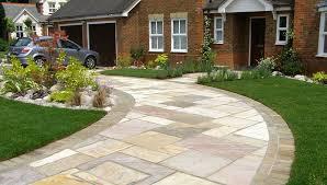 garden ideas driveway