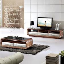 modern mdf media console tv table assembly wooden tv stand view intended for latest