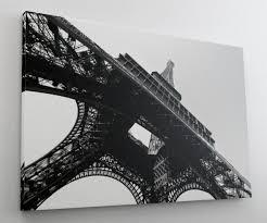 Eifelturm Paris Schwarz Weiß Leinwand Bild Wandbild Kunstdruck L1409