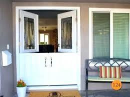 dutch door with screen exterior fiberglass double doors installed in beach dutch door with screen