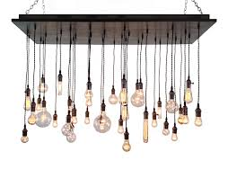 innovative hanging bulb chandelier with chandelier stunning chandelier with edison bulbs black chandelier