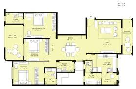 Ashok Astoria D Floor Plans