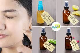 best diy toner recipes for oily dry acne e and normal skin