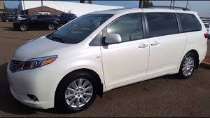 2017 Toyota Sienna XLE AWD in Blizzard Pearl White Review and test ...