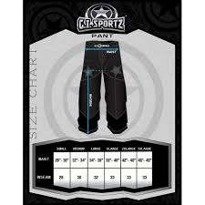 Details About Gi Sportz Grind Paintball Pants Black Red Xl
