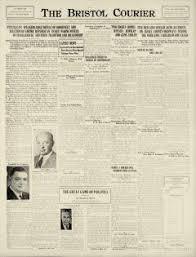 Bristol Courier Newspaper Archives, Sep 30, 1940, p. 1
