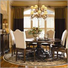 Swell Formal Dining Room Decorating Ideas With Round Table White - Formal dining room designs