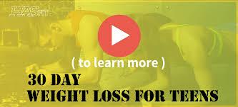 Free teen weight loss programs