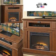 details about electric fireplace tv stand corner entertainment center media console table heat