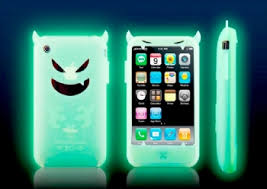 iphone costume. if you\u0027re dressing up for halloween, why not give your iphone its own costume too? ideal case is selling a demon-style silicone that glows in iphone l
