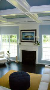 what color to paint ceilingBeautiful tricolor coffered ceiling This looks perfect for a