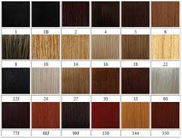 Lace Front Color Chart Bobbi Boss Color Chart Sbiroregon Org