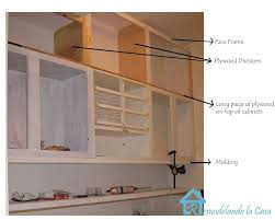 Diy Kitchen Cabinet Plans Best Building The Cabinets Up To The Ceiling In 48 Home Decor