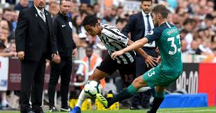 Image result for NEWCASTLE 1 TOTTENHAM 2