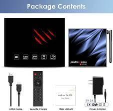 pendoo Android TV Box 10.0 4GB RAM 32GB ROM, X11 PRO TV: Amazon.de:  Elektronik