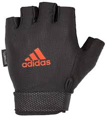 Adidas Mens Heavy Weight Lifting Gloves With Natural Suede Grip