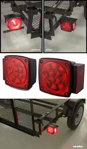 Ez Loader Trailer Light Bulb Replacement Miro Flex Led Combination Trailer Tail Lights Submersible