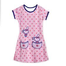 Baby Night Dress Design Sweet Dreams Girls Nightdress Pink