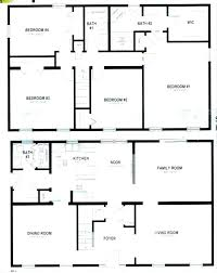 simple open house plans lovely sq ft floor square small 4 bedroom simple two
