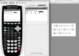ti 84 tutorial solving for 3