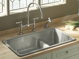 kitchen stainless steel drop in sink square design granite