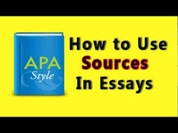 apa citations sle research paper