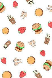 cute food wallpaper backgrounds. Fine Cute Simple But Cute Food Wallpaper  Wallpaper In 2018 Pinterest Wallpaper Food  And Backgrounds On Cute Backgrounds
