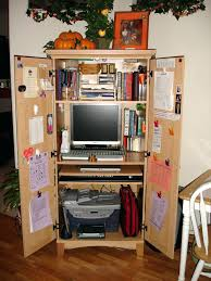 contemporary computer armoire desk computer armoire. Modern Desk Armoire Inside Hack Corner In Desks Office . Contemporary Computer