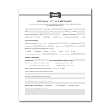 event planning questionnaire wedding planner questionnaire template printable planner template