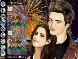 famous couples twilight dress up game