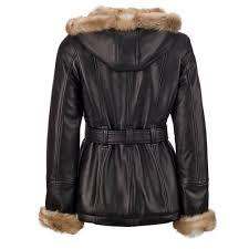 leather jacket w faux fur lining view fullscreen