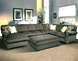 extra large leather sectional sofas with chaise sofa deep oversized size of home improvement scenic