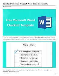 Mailing List Template Microsoft Word – Urbanmeal