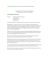 press release cover letter examples strategic writing and media relations writing samples
