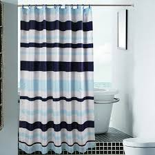 teal striped shower curtain. blue striped shower curtain for bathroom polyester 78 inch teal