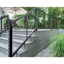 Feeney Design Rail Designrail Aluminum Level Rail Kit By Feeney Black 42 In 6 Ft