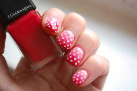In SAMazement: Valentines Nail Art #1: Pink and Red Ombré with ...