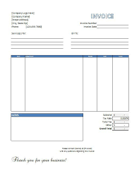 excel service excel service invoice template free download